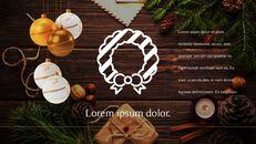 메리 크리스마스 간단한 디자인 템플릿_25