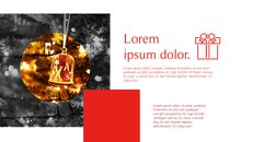 메리 크리스마스 간단한 디자인 템플릿_26