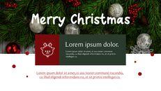 메리 크리스마스 간단한 디자인 템플릿_28