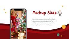 메리 크리스마스 간단한 디자인 템플릿_39