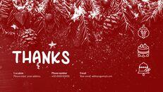 메리 크리스마스 간단한 디자인 템플릿_40