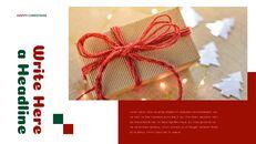 크리스마스 선물 프레젠테이션을 위한 구글슬라이드 템플릿_17
