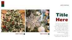 크리스마스 선물 프레젠테이션을 위한 구글슬라이드 템플릿_29