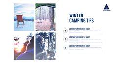 겨울 캠핑 파워포인트 레이아웃_10