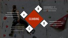 암벽 등반가 테마 Google 슬라이드_14