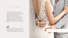 아름다운 결혼식 비즈니스 프레젠테이션 PPT_09