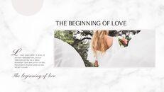 아름다운 결혼식 비즈니스 프레젠테이션 PPT_18