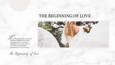 아름다운 결혼식 프레젠테이션용 Google 슬라이드 테마_18