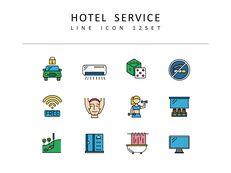 호텔 서비스 디자이너를 위한 아이콘 리소스_03