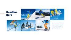 스노우 보드 & 스키 PPT 테마 슬라이드_20