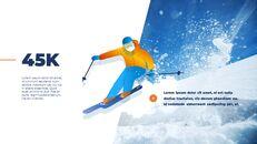 스노우 보드 & 스키 프레젠테이션 템플릿_04
