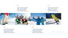 스노우 보드 & 스키 프레젠테이션 템플릿_10