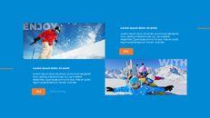 스노우 보드 & 스키 프레젠테이션 템플릿_12