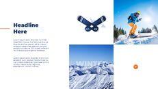 스노우 보드 & 스키 프레젠테이션 템플릿_18