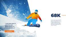 스노우 보드 & 스키 프레젠테이션 템플릿_19