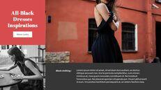 최신 스트리트 스타일 패션 Google 슬라이드 템플릿 다이어그램 디자인_19