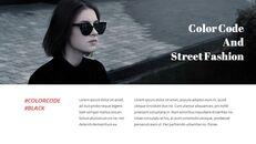 최신 스트리트 스타일 패션 Google 슬라이드 템플릿 다이어그램 디자인_25