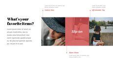 최신 스트리트 스타일 패션 심플한 파워포인트 템플릿 디자인_04