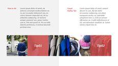 최신 스트리트 스타일 패션 심플한 파워포인트 템플릿 디자인_16