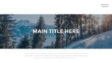 겨울 숲 간단한 디자인 템플릿_03