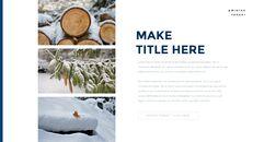 겨울 숲 간단한 디자인 템플릿_07