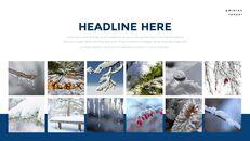 겨울 숲 간단한 디자인 템플릿_14