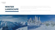 겨울 숲 간단한 디자인 템플릿_15