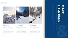 겨울 숲 간단한 디자인 템플릿_18