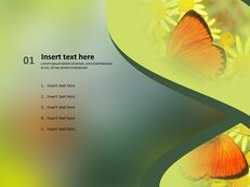 Butterfly Theme - PowerPoint Template Free Download_03