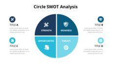 Circle SWOT 분석 다이어그램_05