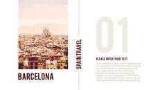 스페인 여행 프리미엄 파워포인트 템플릿_03