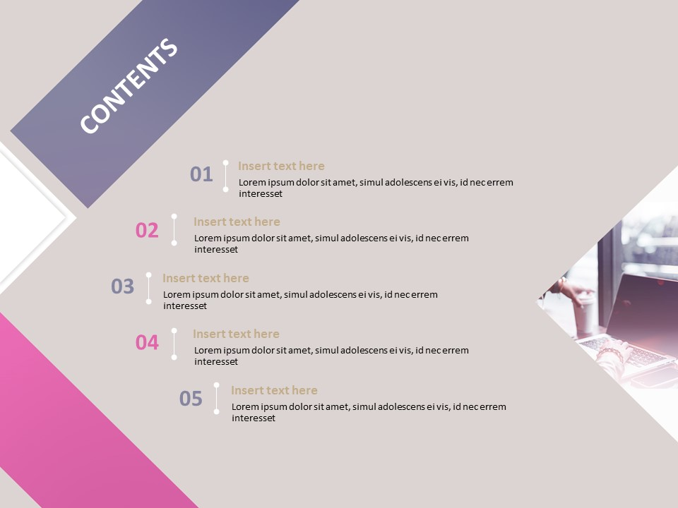 Business Woman Free Powerpoint Templates Design