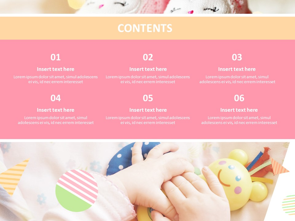 Cute Baby Free Powerpoint Templates Design