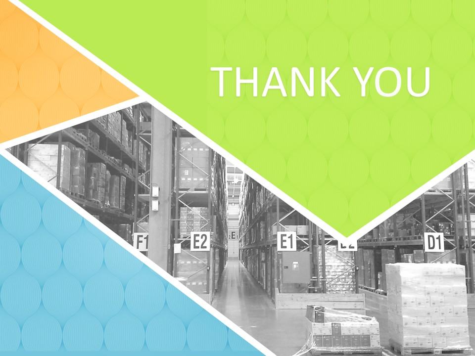 Distribution Movement Warehouse Free Presentation Templates
