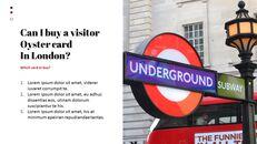재미있는 여행, 런던 비즈니스 PPT_12