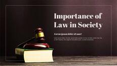 법률 편집이 쉬운 PPT 템플릿_22