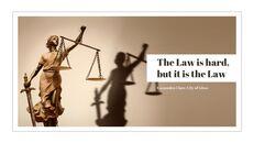 법률 편집이 쉬운 PPT 템플릿_27