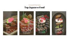 일본 요리 프레젠테이션을 위한 구글슬라이드 템플릿_14