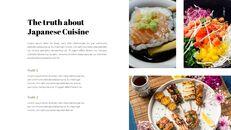 일본 요리 프레젠테이션을 위한 구글슬라이드 템플릿_28