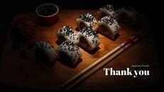일본 요리 프레젠테이션을 위한 구글슬라이드 템플릿_39