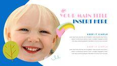행복한 아이들 맥용 Google 슬라이드_16
