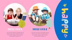 행복한 아이들 맥용 Google 슬라이드_22