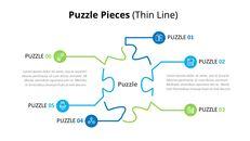 퍼즐 조각 Infographic 다이어그램_03