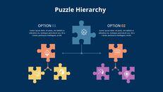 퍼즐 조각 Infographic 다이어그램_04