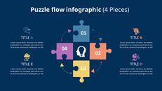 퍼즐 조각 Infographic 다이어그램_05