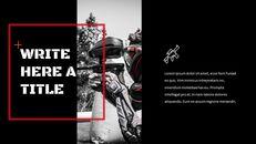 서바이벌 게임 심플한 프레젠테이션 Google 슬라이드 템플릿_26