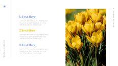 봄 꽃 편집이 쉬운 Google 슬라이드_06