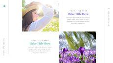 봄 꽃 편집이 쉬운 Google 슬라이드_09