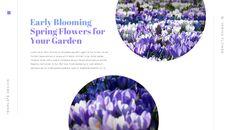 봄 꽃 편집이 쉬운 Google 슬라이드_17