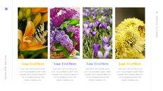 봄 꽃 편집이 쉬운 Google 슬라이드_20